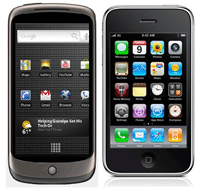 NEXUS ONE vs. I-PHONE 3G-S: Petit comparatif, grosses differences!