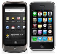 NEXUS ONE vs. I-PHONE 3G-S: Petit comparatif, grosses differences!