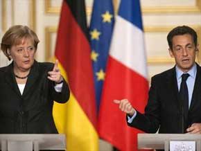 MERKEL rejette l'idée d'un ministre franco-allemand