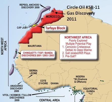 Maroc : L'australien Tangiers Petroleum accentue son exploration pétrolière
