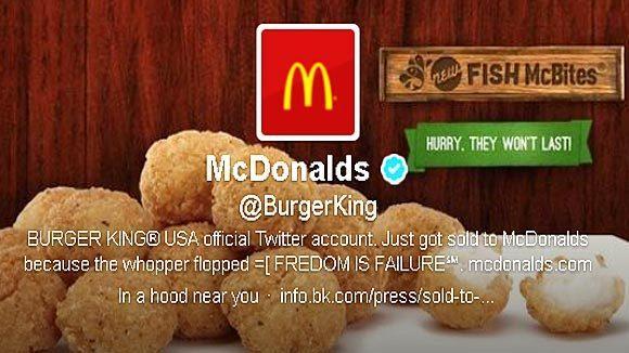 Burger King : Le Compte Twitter Piraté au Profit de McDonald's